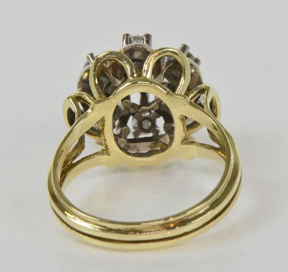 Carat Cluster Dind Ring